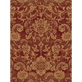 Central Oriental Shadows Londonderry Red Rug; Runner 2'3'' x 7'7''