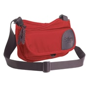Overland Equipment Pixley Shoulder Bag; Poppy / Denim