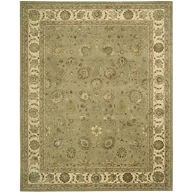 Nourison Nourison Light Green Area Rug; 8'6'' x 11'6''