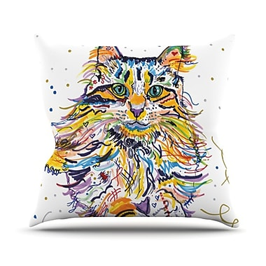 KESS InHouse Leo Throw Pillow; 26'' H x 26'' W