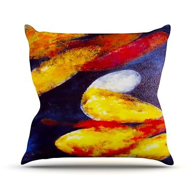KESS InHouse Into the Light Throw Pillow; 26'' H x 26'' W