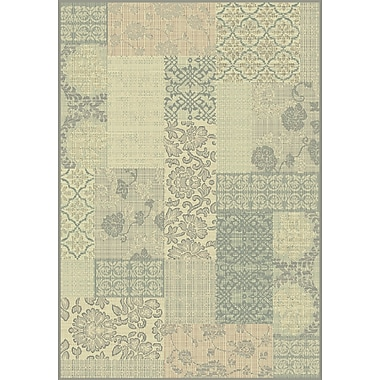 Dynamic Rugs Imperial Cream/Light Blue Area Rug; 5'3'' x 7'7''