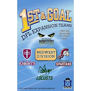 R&R Games 1st & Goal: Midwest Division Board Game