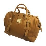 Mulholland Brothers Weekend Bags 19'' Leather Weekender Duffel; Lariat