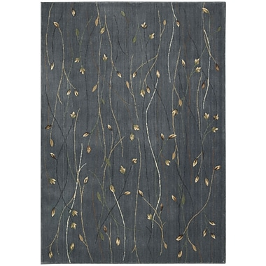 Nourison Cambridge Blue Area Rug; 5'3'' x 7'4''