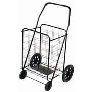 Trimmer Extra Large Shopping / Grocery Cart; Black