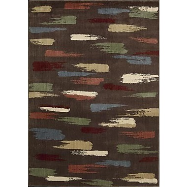 Nourison Expressions Chocolate Area Rug; 3'6'' x 5'6''