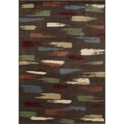 Nourison Expressions Chocolate Area Rug; 5'3'' x 7'5''