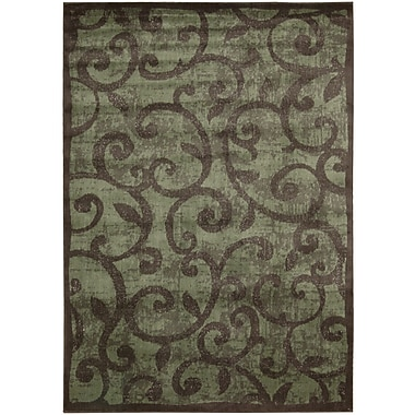 Nourison Expressions Brown Area Rug; 7'9'' x 10'10''