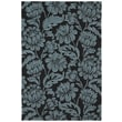 Kaleen Habitat 21 Calypso Charcoal Floral Indoor/Outdoor Area Rug; 10' x 14'