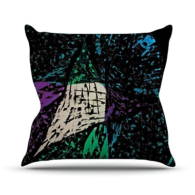 KESS InHouse Family 5 Throw Pillow; 26'' H x 26'' W