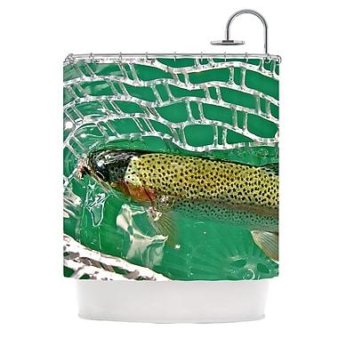 KESS InHouse Catch Shower Curtain