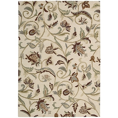 Nourison Sunburst Buttercream Area Rug; 5'3'' x 7'5''