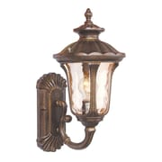 Livex Lighting Oxford 1 Light Outdoor Sconce; 18'' H x 9.5'' W x 11'' D / Medium Base Bulb