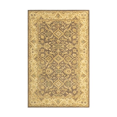 Meva Rugs Windsor Brown/Sand Area Rug; Runner 2'6'' x 8'