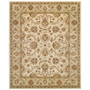 Capel Monticello Beige/Spa Meshed Area Rug; 8' x 10'