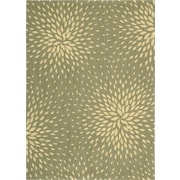 Nourison Capri Light Green Area Rug; 3'6'' x 5'6''