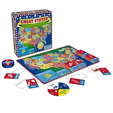 International Playthings Great States Junior Board Game