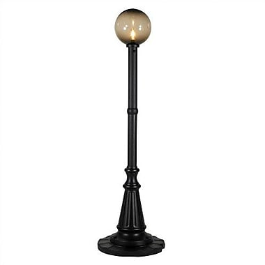 Patio Living Concepts Milano 1-Light 84'' Post Light; Black / Bronze