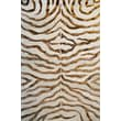 nuLOOM Earth Safari Zebra Print with Faux Silk Highlights Area Rug; 4' x 6'