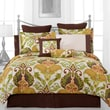 Pointehaven Hannah 12 Piece Comforter Set; Full