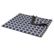 Picnic Time X-Large Blanket Tote; Black Plaid