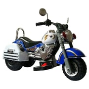 Merske LLC Harley 6V Battery Powered Motorcycle; Blue