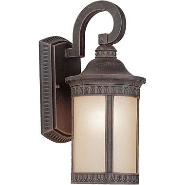 Forte Lighting 1 Light Outdoor Wall Lantern; 16.25'' H x 7.5'' W x 9.5'' D