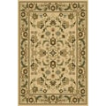 Central Oriental Interlude Cambridge Ivory Rug; 5' x 7'6''