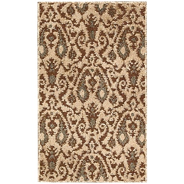Nourison Kindred Ivory/Brown Outdoor Rug; 7'9'' x 10'