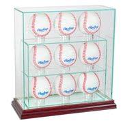 Perfect Cases 9 Upright Baseball Display Case