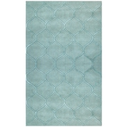 KAS Rugs Transitions Harmony Frost Blue Area Rug; 8' x 10'