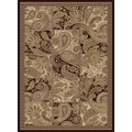 Central Oriental Encore Isabella Dark Wine Rug; 3'3'' x 5'3''
