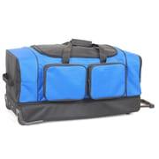 Netpack 30'' 2-Wheeled Summer Travel Duffel; Blue