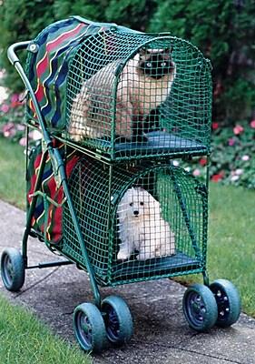 Kittywalk Systems Double Decker Standard Pet Stroller WYF078276078066