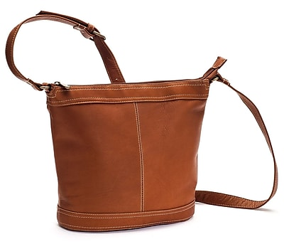 Le Donne Leather Ti Bucket Bag; Tan
