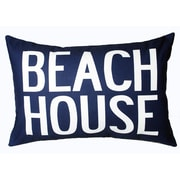 Uptown Artworks Beach House Linen Lumbar Pillow
