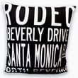 Uptown Artworks Beverly Hills Linen Throw Pillow