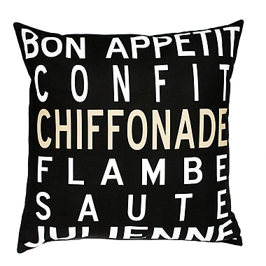 Uptown Artworks Bon Appetit Throw Pillow