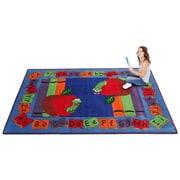 Kid Carpet Let's Book It Story Kids Rug; 6' x 8'6''