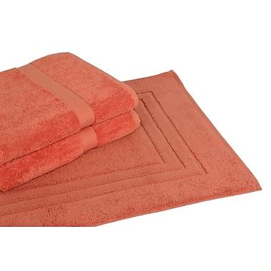 Calcot Ltd. All American Cotton Line 3 Piece Towel Set; Papaya