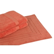Calcot Ltd. All American Cotton Line 3 Piece Towel Set; Papaya