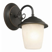 Design House Millbridge 1 Light Outdoor Wall Lantern; Oil Rubbed Bronze