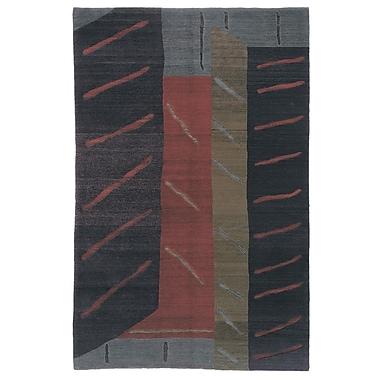 Artisan Carpets Designers' Reserve Black/Blue Area Rug; 3' x 5'