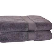 Calcot Ltd. Growers Bath Towel (Set of 2); Charcoal