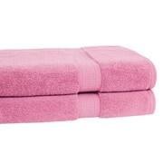 Calcot Ltd. Growers Bath Towel (Set of 2); Cherry Blossom