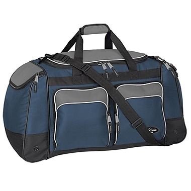 Travelers Polo & Racquet Club Adventurer 28'' Travel Duffel; Navy / Black