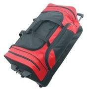Netpack 30'' 2-Wheeled Rocky Travel Duffel; Red