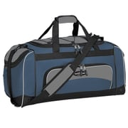 Travelers Polo & Racquet Club Adventurer 24'' Sport Duffel; Navy / Black