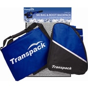 Transpack Alpine Boot Backpack & Ski Bag Mesh Set; Blue